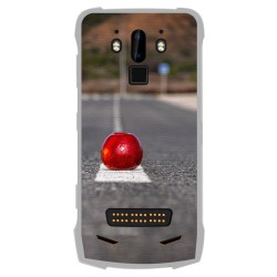 Funda Gel Tpu para Doogee S90 diseño Apple Dibujos