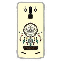 Funda Gel Tpu para Doogee S90 diseño Atrapasueños Dibujos
