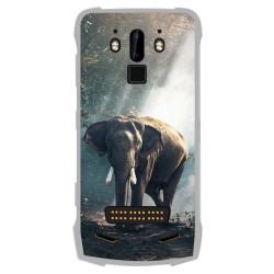 Funda Gel Tpu para Doogee S90 diseño Elefante Dibujos
