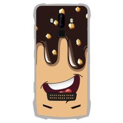 Funda Gel Tpu para Doogee S90 diseño Helado Chocolate Dibujos