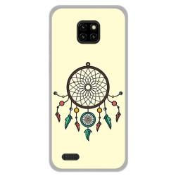 Funda Gel Tpu para Ulefone Note 7 diseño Atrapasueños Dibujos