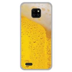 Funda Gel Tpu para Ulefone Note 7 diseño Cerveza Dibujos