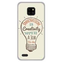 Funda Gel Tpu para Ulefone Note 7 diseño Creativity Dibujos