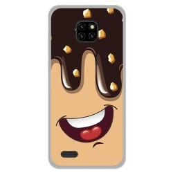 Funda Gel Tpu para Ulefone Note 7 diseño Helado Chocolate Dibujos