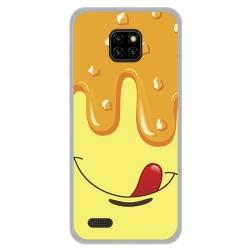 Funda Gel Tpu para Ulefone Note 7 diseño Helado Vainilla Dibujos