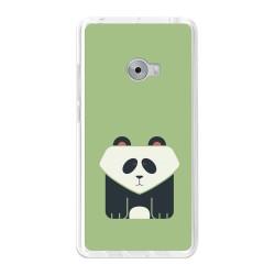 Funda Gel Tpu para Xiaomi Mi Note 2 5.7 Diseño Panda Dibujos