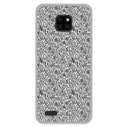 Funda Gel Tpu para Ulefone Note 7 diseño Letras Dibujos