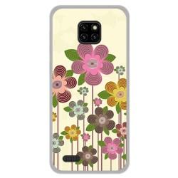 Funda Gel Tpu para Ulefone Note 7 diseño Primavera En Flor Dibujos