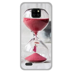 Funda Gel Tpu para Ulefone Note 7 diseño Reloj Dibujos