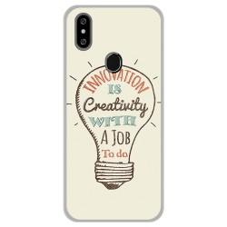 Funda Gel Tpu para Oukitel C15 Pro diseño Creativity Dibujos