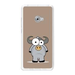 Funda Gel Tpu para Xiaomi Mi Note 2 5.7 Diseño Toro Dibujos