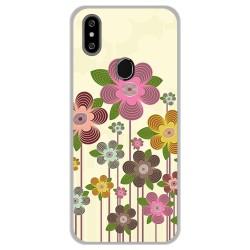 Funda Gel Tpu para Oukitel C15 Pro diseño Primavera En Flor Dibujos