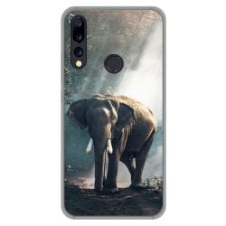 Funda Gel Tpu para Umidigi A5 Pro diseño Elefante Dibujos