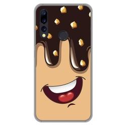 Funda Gel Tpu para Umidigi A5 Pro diseño Helado Chocolate Dibujos