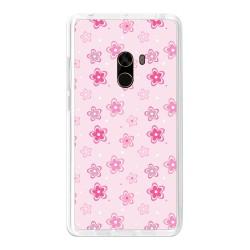 Funda Gel Tpu para Xiaomi Mi Mix Diseño Flores Dibujos