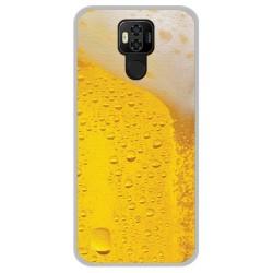 Funda Gel Tpu para Ulefone Power 6 diseño Cerveza Dibujos