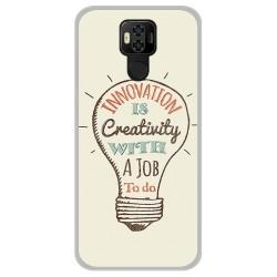 Funda Gel Tpu para Ulefone Power 6 diseño Creativity Dibujos
