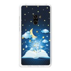 Funda Gel Tpu para Xiaomi Mi Mix Diseño Libro-Cuentos Dibujos