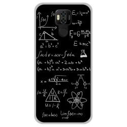 Funda Gel Tpu para Ulefone Power 6 diseño Formulas Dibujos