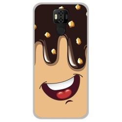 Funda Gel Tpu para Ulefone Power 6 diseño Helado Chocolate Dibujos