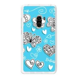 Funda Gel Tpu para Xiaomi Mi Mix Diseño Mariposas Dibujos