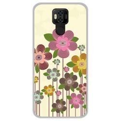 Funda Gel Tpu para Ulefone Power 6 diseño Primavera En Flor Dibujos
