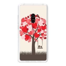 Funda Gel Tpu para Xiaomi Mi Mix Diseño Pajaritos Dibujos