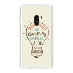 Funda Gel Tpu para Xiaomi Mi Mix Diseño Creativity Dibujos