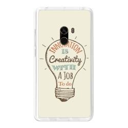 Funda Gel Tpu para Xiaomi Mi Mix Diseño Creativity Dibujos