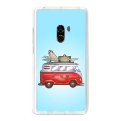 Funda Gel Tpu para Xiaomi Mi Mix Diseño Furgoneta Dibujos