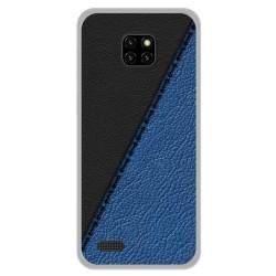 Funda Gel Tpu para Ulefone Note 7 diseño Cuero 02 Dibujos