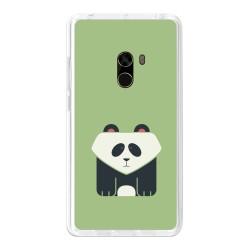 Funda Gel Tpu para Xiaomi Mi Mix Diseño Panda Dibujos