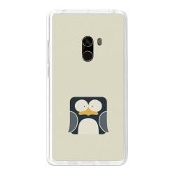 Funda Gel Tpu para Xiaomi Mi Mix Diseño Pingüino Dibujos