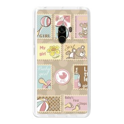 Funda Gel Tpu para Xiaomi Mi Mix Diseño Sellos Dibujos