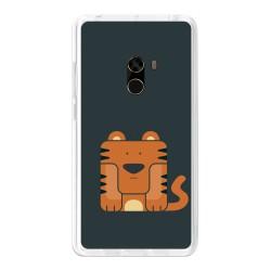 Funda Gel Tpu para Xiaomi Mi Mix Diseño Tigre Dibujos