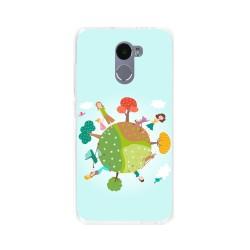 Funda Gel Tpu para Xiaomi Redmi 4 Diseño Familia Dibujos