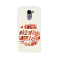 Funda Gel Tpu para Xiaomi Redmi 4 Diseño Mundo-Libro Dibujos