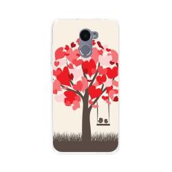 Funda Gel Tpu para Xiaomi Redmi 4 Diseño Pajaritos Dibujos