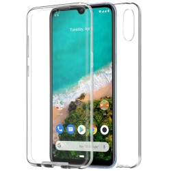 Funda Completa Transparente Pc + Tpu Full Body 360 para Xiaomi Mi A3