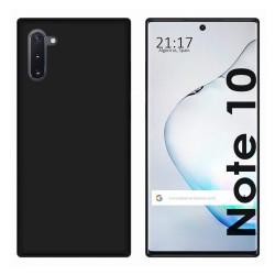 Funda Gel Tpu para Samsung Galaxy Note10 Color Negra