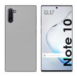 Funda Gel Tpu para Samsung Galaxy Note10 Color Transparente