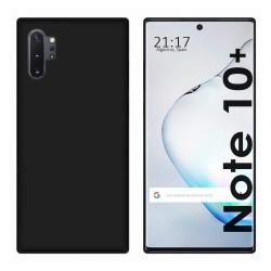 Funda Gel Tpu para Samsung Galaxy Note10+ Color Negra