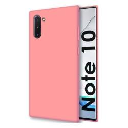 Funda Silicona Líquida Ultra Suave para Samsung Galaxy Note10 color Rosa