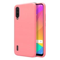 Funda Silicona Líquida Ultra Suave para Xiaomi Mi A3 color Rosa