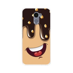 Funda Gel Tpu para Xiaomi Redmi 4 Diseño Helado Chocolate Dibujos
