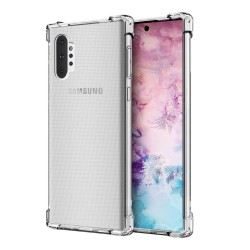 Funda Gel Tpu Anti-Shock Transparente para Samsung Galaxy Note10+
