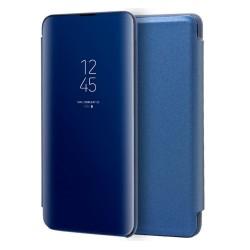Funda Flip Cover Clear View para Samsung Galaxy Note10+ color Azul