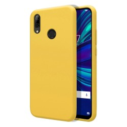 Funda Silicona Líquida Ultra Suave para Huawei P Smart 2019 / Honor 10 Lite color Amarilla