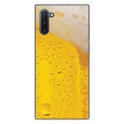 Funda Gel Tpu para Samsung Galaxy Note10 diseño Cerveza Dibujos