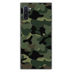 Funda Gel Tpu para Samsung Galaxy Note10 diseño Camuflaje Dibujos